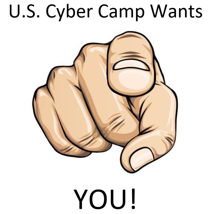 Cyber Camp Wants You